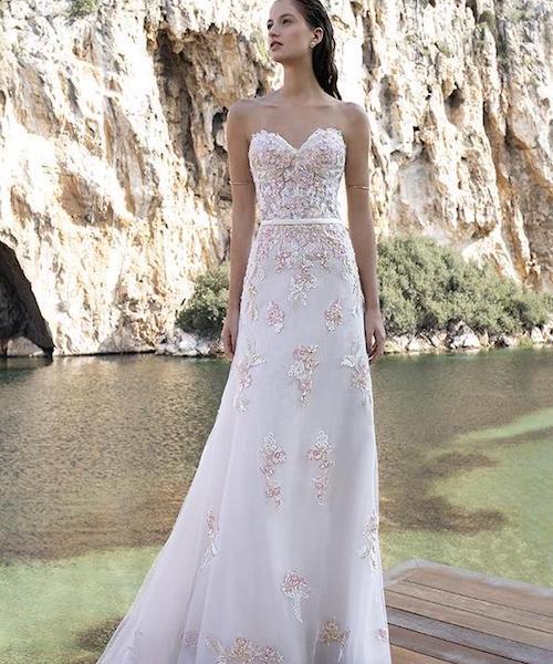 Robe de mariée colorée , mariée.fr