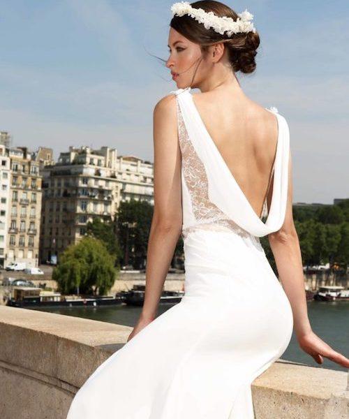 Robe de mariée dos-nu - mariée.fr