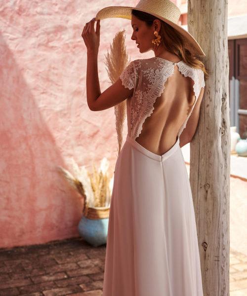 robe de mariée dos nu