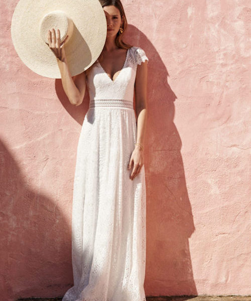 robe de mariée en dentelle
