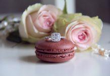 solitaire en diamant, bague de fiançailles