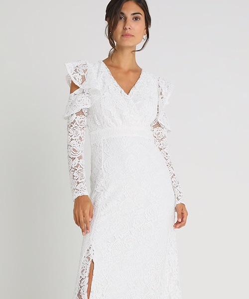 robe de mariée dentelle pas cher