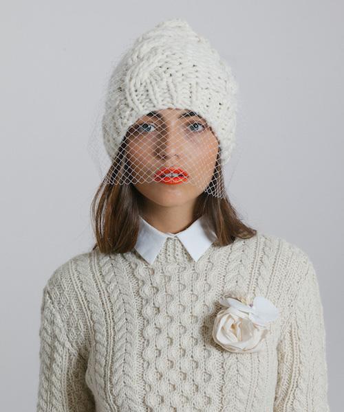 look mariée hiver