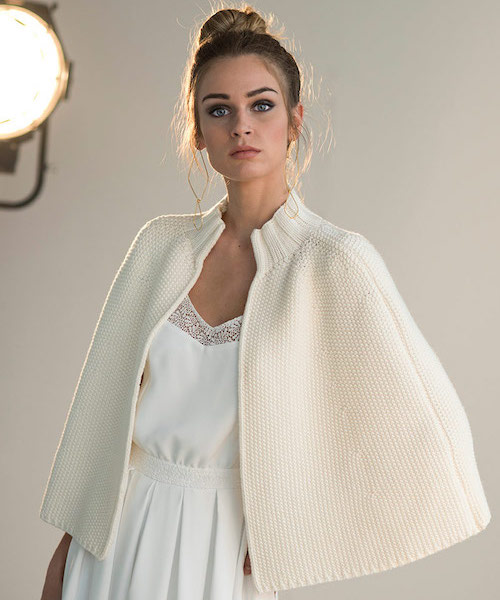 tenue mariée hiver