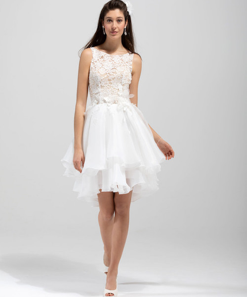 Robe de mariée courte - mariée.fr