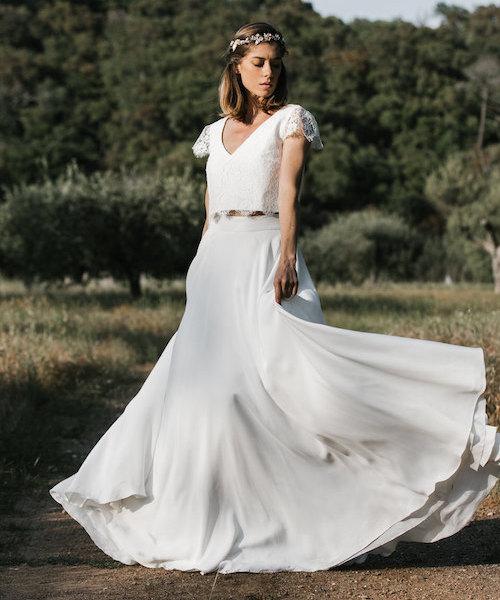 robe mariée champêtre