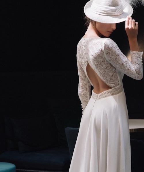 robe mariée manches longues