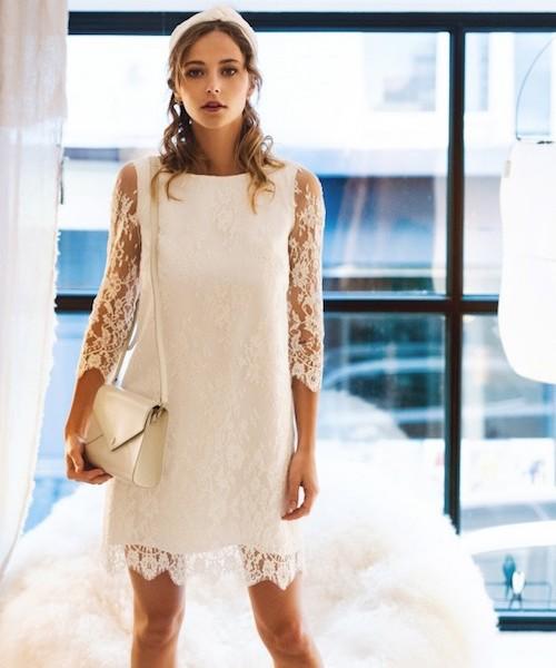robe mariée mariage civil