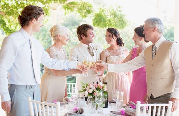 réception mariage, invités