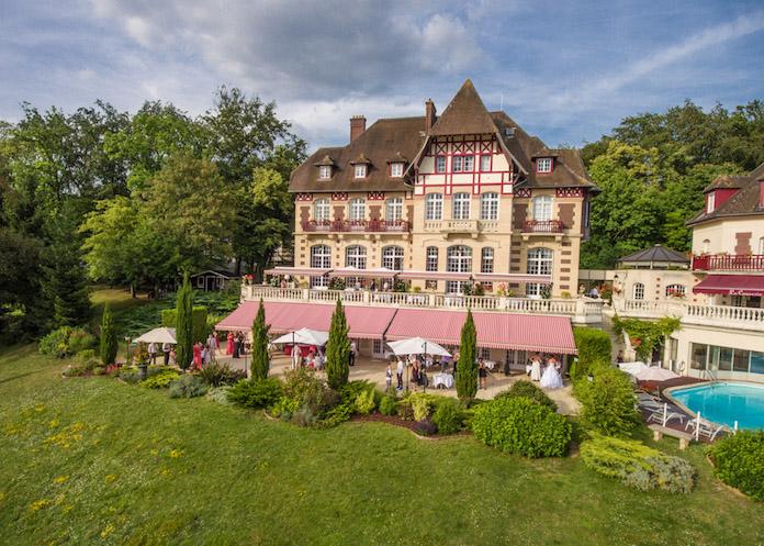 Chateau de la Tour, réception de mariage