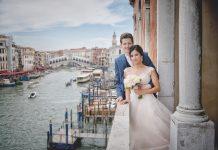 mariage en petit comité à Venise