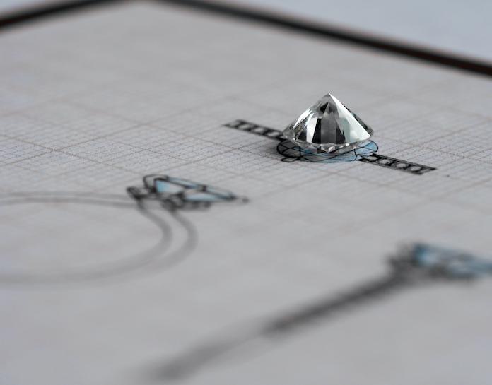 alliances diamant sur-mesure