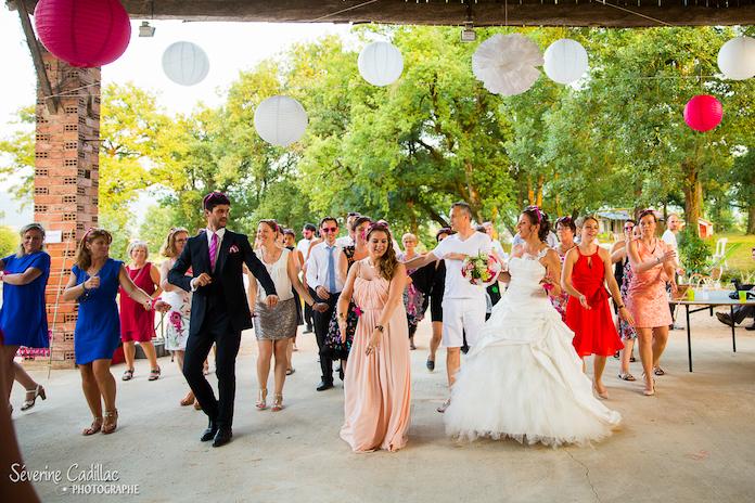flashmob mariage