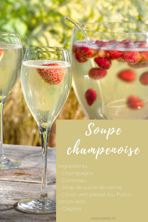 soupe champenoise mariage