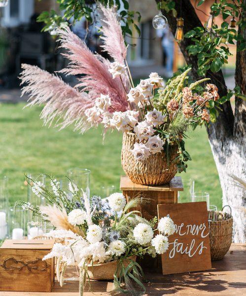 budget fleurs mariage