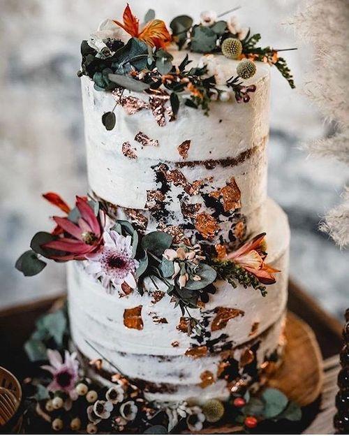 repas mariage automne