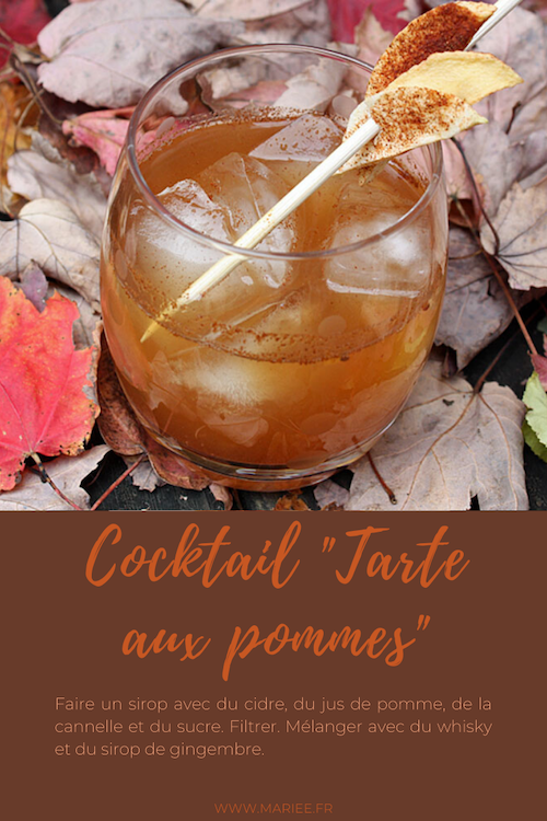 cocktail mariage automne