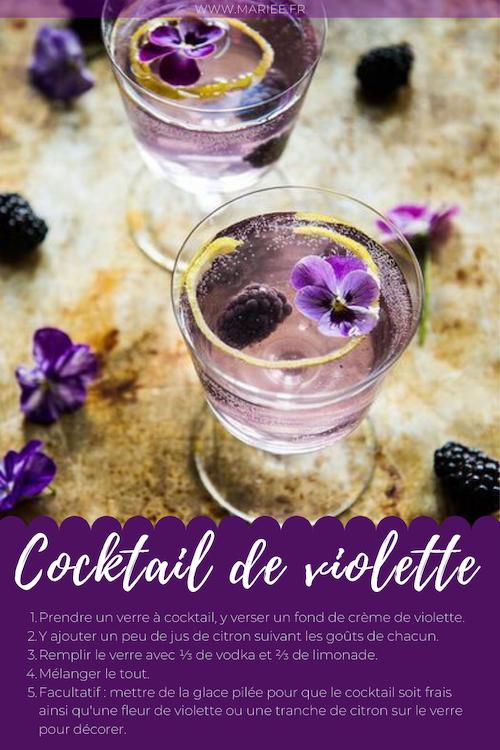 cocktail mariage champêtre