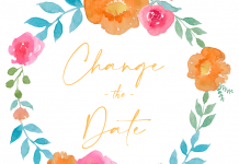 change the date mariage