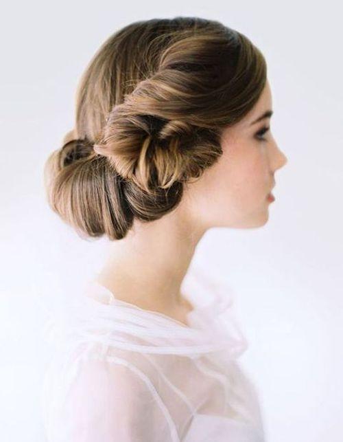coiffure vintage mariage