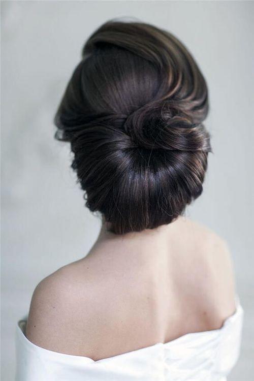 coiffure mariage vintage