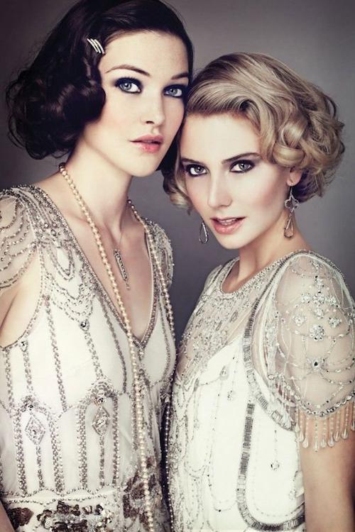 coiffure rétro mariage vintage