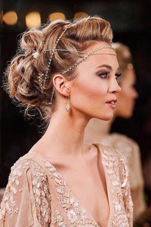 coiffure mariage rétro vintage