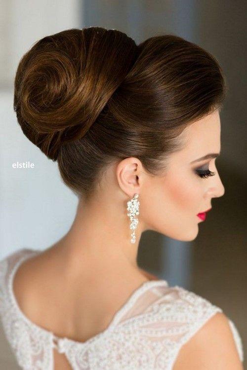 idée coiffure rétro mariage