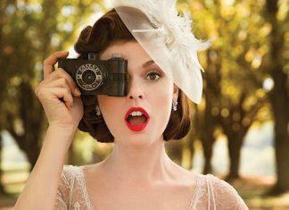 idée coiffure mariage vintage