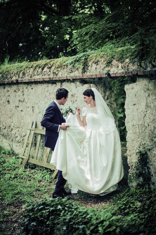 vrai mariage chic et romantique