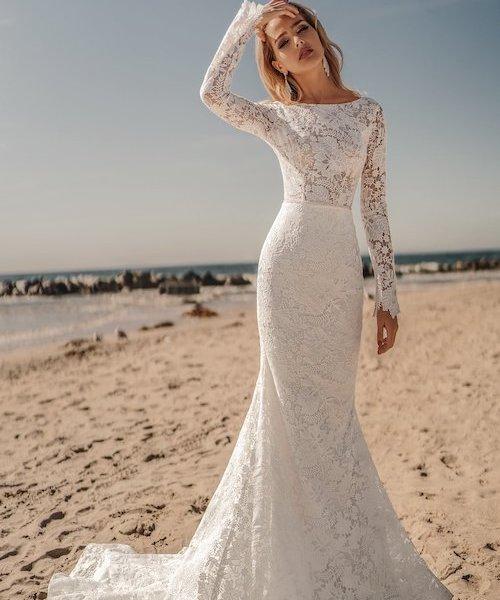 robe de mariée bohème dentelle 2021