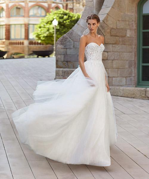 robe de mariée bustier 2021
