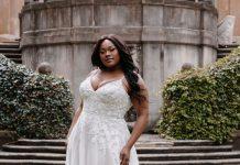 robe de mariée grande taille 2022