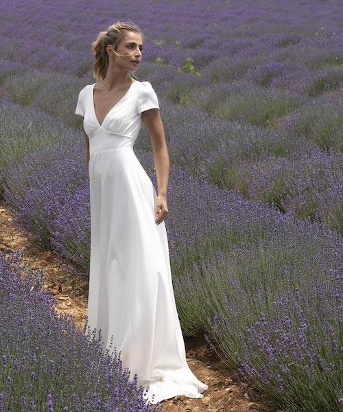 robe de mariée simple