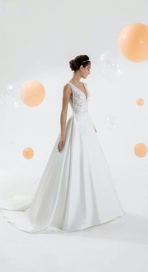 robe de mariée Eglantine Créations