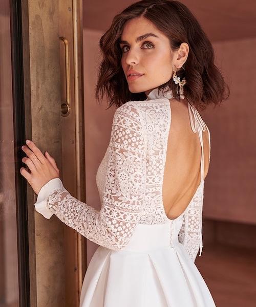 robe de mariée dos-nu