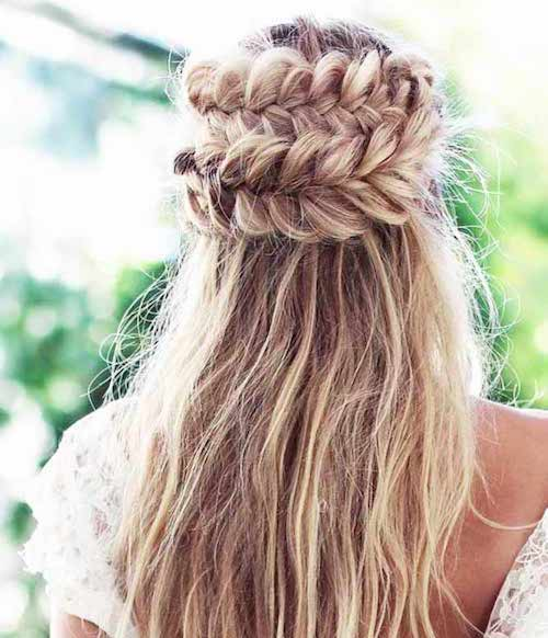 couronne tresses mariage