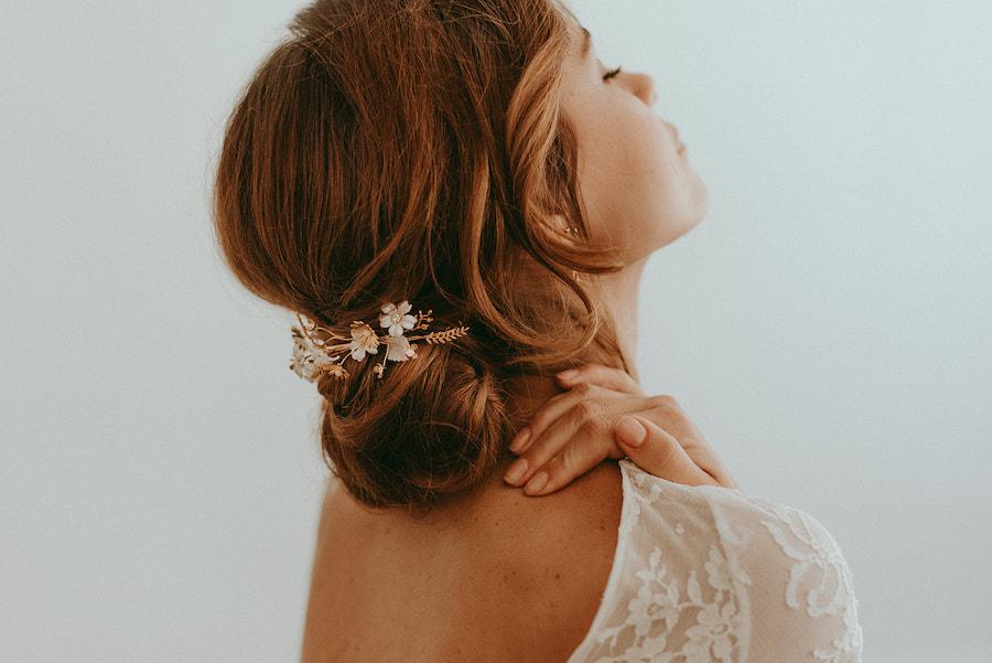 chignon mariage, coiffure de mariage