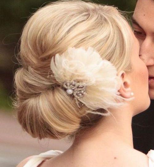 chignon classique mariage