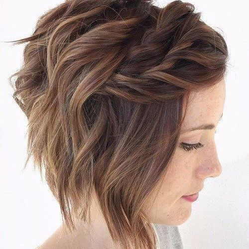 coiffure mariage coupe courte