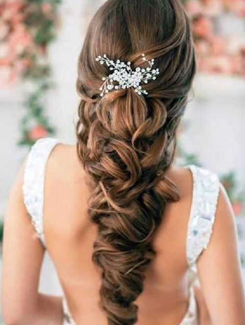 coiffure mariage tresse floues
