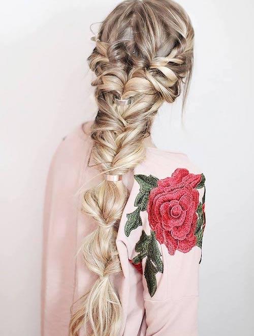 coiffure mariage tresses