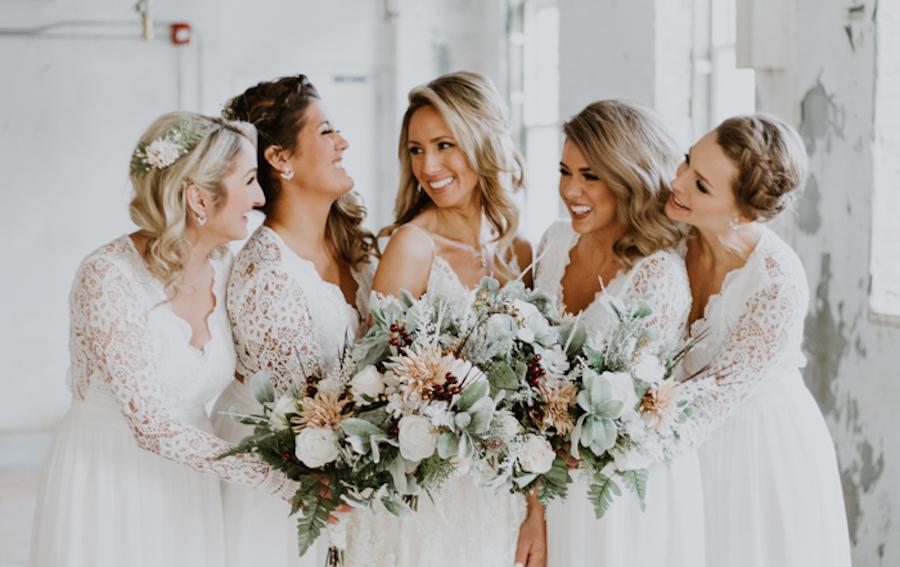 coiffure invitée mariage