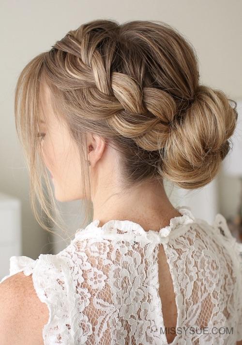 chignon mariage coiffure mariage tendance