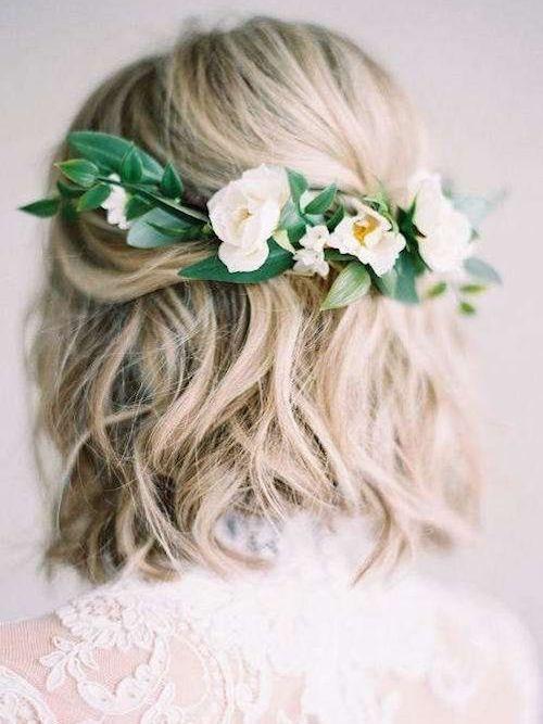 idées coiffure bohème mariage