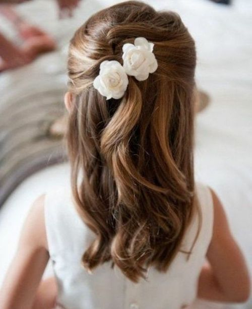 coiffure mariage enfant