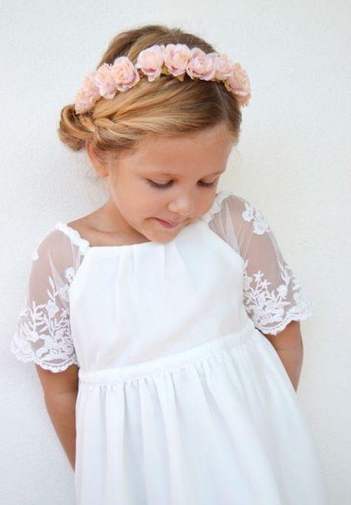 couronne fleurs enfant mariage