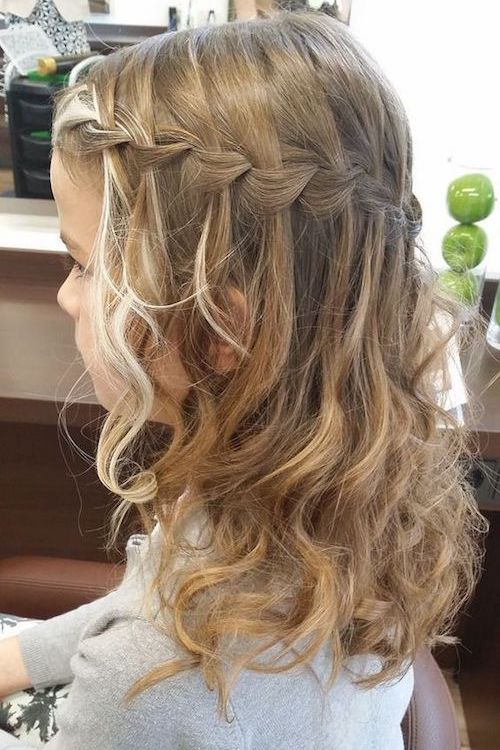 coiffure cérémonie mariage enfant