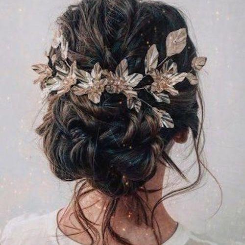 idée coiffure mariage bohème chic