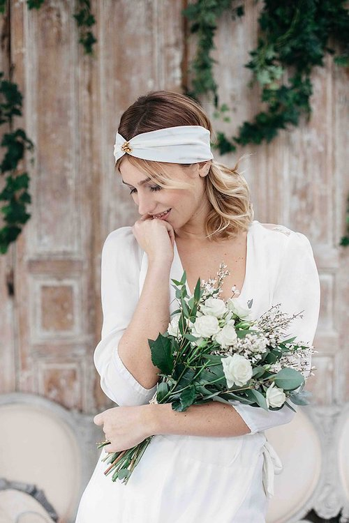 turban accessoire coiffure mariage